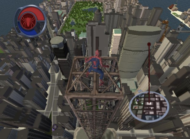 Free-roaming in New York, Spider-man 2